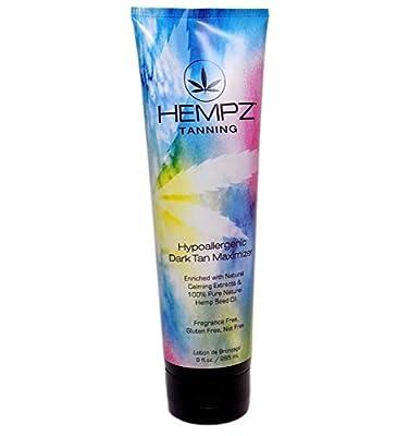 Hempz HYPOALLERGENIC DARK TAN Maximizer - 9 oz.