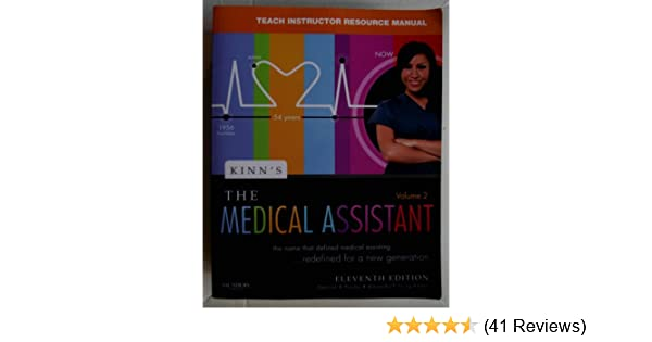 Kinn S The Medical Assistant Teach Instructor Resource