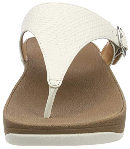 The urban Chanclas Fitflop White Para Skinny Blanco Mujer 6np8wd8q
