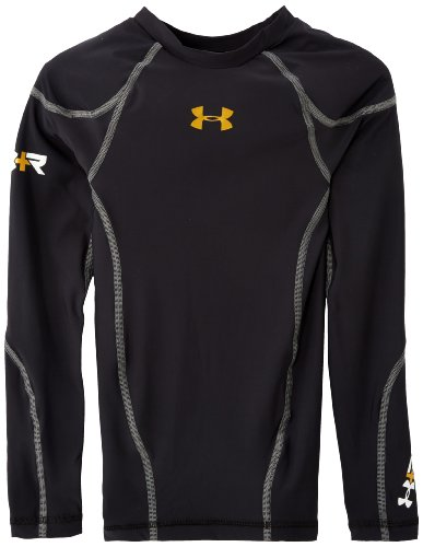 Under Armour Recharge Energy Long Sleeve Compression Running Top - Small - Black