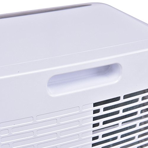Costway 10,000 BTU Portable Air Conditioner with Remote Control Dehumidifier Function Window Wall Mount in White by COSTWAY (Image #8)