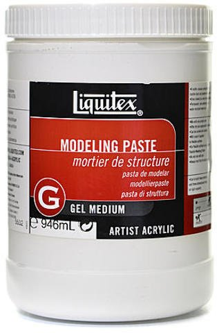Liquitex Acrylic Modeling Paste (32 oz.) 1 pcs sku# 1836439MA by Liquitex