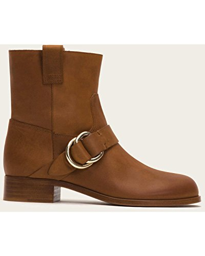 Women's Ring FRYE Strap Cognac 8M Boot 3479950 Ricki S55waxgq