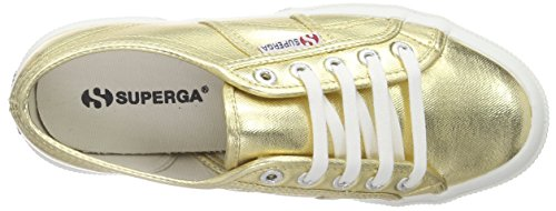 Sneaker 2750 Gold Women's Orange Superga Cotu xYvwtqw4