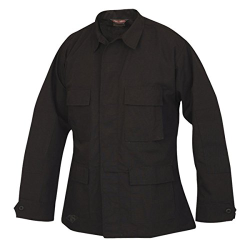 Tru-Spec Men's Lightweight BDU Jacket, Black, X-Large ()