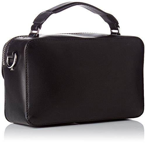 Mini Leather Noir X Fashion Hardware Hilfiger Black Tommy Over bandoulière Sacs q7ZwgIw