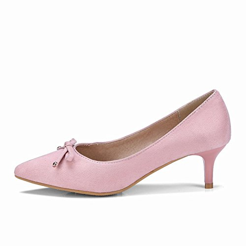 Bureau Patinage Des De Les Mi Mee De Talon Escarpins Sur Femmes Chaussures Rose xSTfOqg