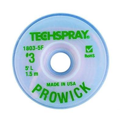 "Pro-Wick Desoldering Braid - .075"" x 5"" Green"