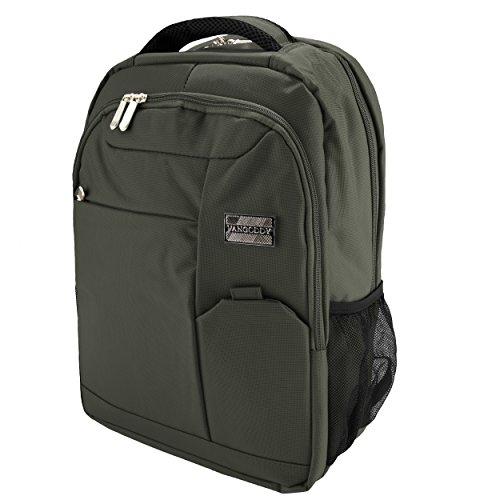 VanGoddy Anti-Theft 15.6inch Laptop Backpack Green for HP Pavilion, Stream, ChromeBook, EliteBook, ProBook, Spectre, Envy, x360, Omen, ZBook, 14z, 250, 255 14 to 15.6inch