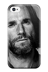 PapDHLy1925lPTPd Tpu Phone Case With Fashionable Look For Iphone 4/4s - Daniel Day-lewis