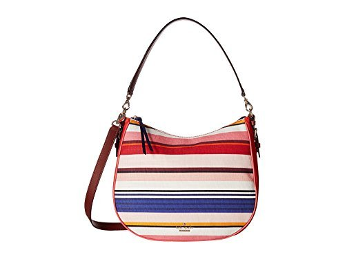 Kate Spade New York Women's Cobble Hill Fabric Mylie Multi Stripe Handbag