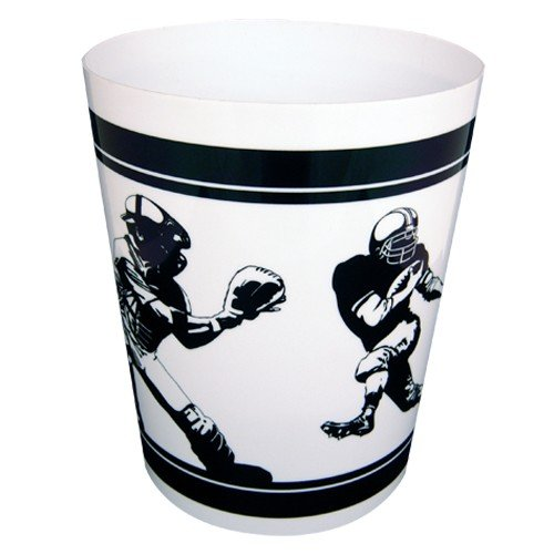 Fanatic Wastebasket - Sports Themed - Football, Baseball, Basketball & More