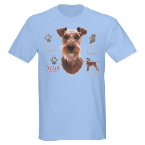 Irish Terrier T-Shirt (child XLarge, Light - Terrier History T-shirt