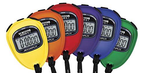 - Accusplit Survivor 2 Series Stopwatch, Set of 6 Solid Colors