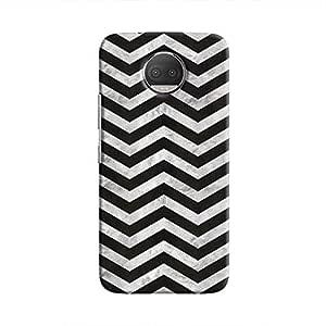 Cover It Up - Silver Black Tri Stripes Moto G5s Plus Hard case
