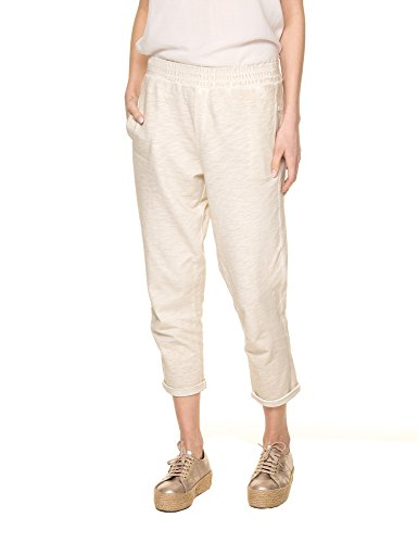 Deha Women's Women's Light Beige Boyfriend Pants 100% Cotton Beige