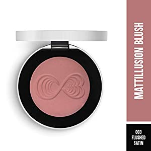 Colorbar Mattillusion Blush, Flushed Satin – 003, 4g