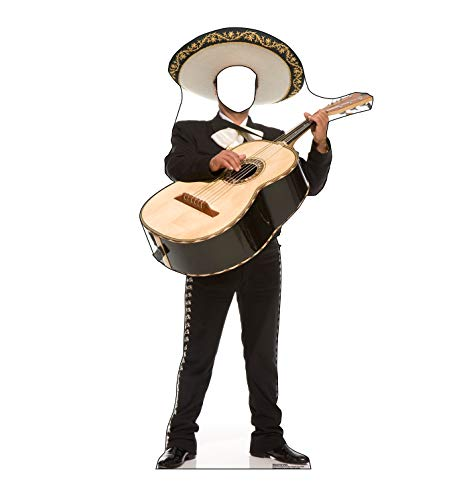 Advanced Graphics Mariachi Guitarron Stand-in Life Size Cardboard Cutout Standup ()