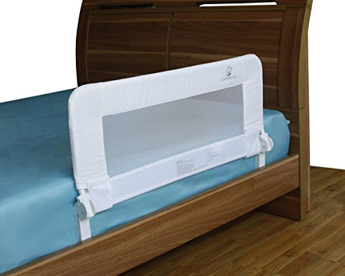 Discover Bargain Toddler Bed Rail Guard for Convertible Crib, Twin, Double, Full Size Queen & King, ...