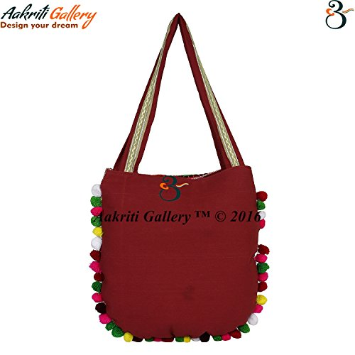 Aakriti Gallery, Borsa a mano donna multicolore Multicolor