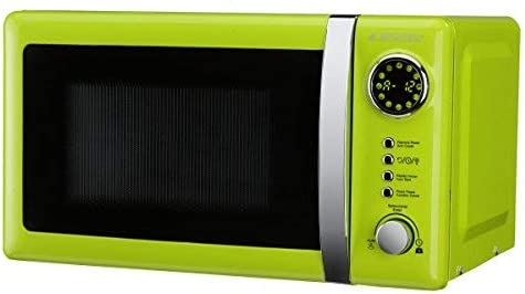 Opinión sobre Microondas Jocel JMO001337, 20 L, 700 W, Verde+ tapa para micro gratis