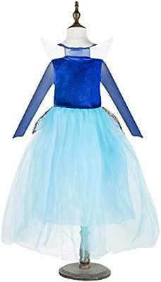 Katara 1772 - Disfraz de Princesa Aurora Bella Durmiente - Niñas 3-4 Años, Azul