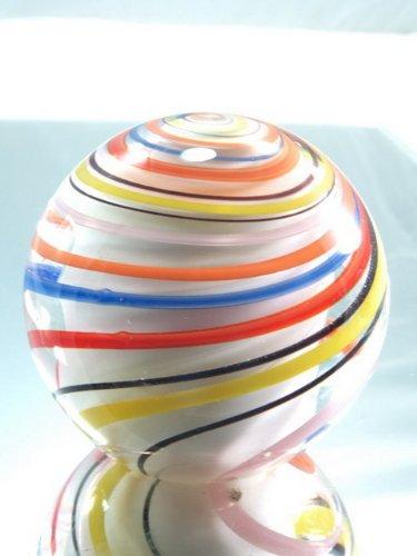 Hand Blown Glass Art Crystal Rainbow Glass Paperweight