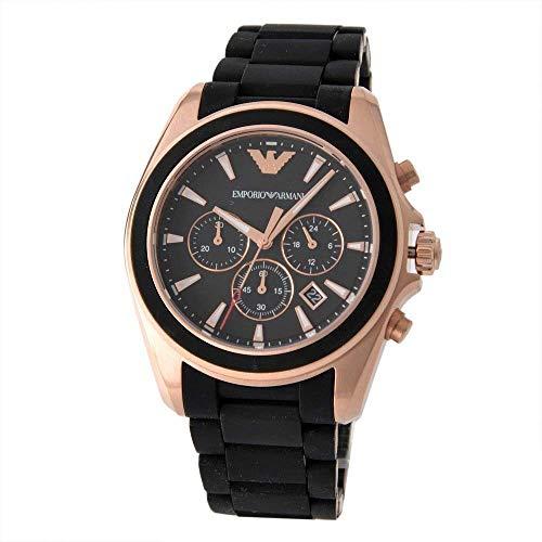 EMPORIO ARMANI Wristwatches Classic Sigma 46 mm Chronograph AR 6066 Men's Japan