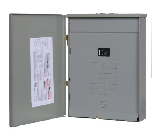 - Murray LW1632B1100 Load Center, 16 Space, 24 Circuit, Main Breaker, 100A