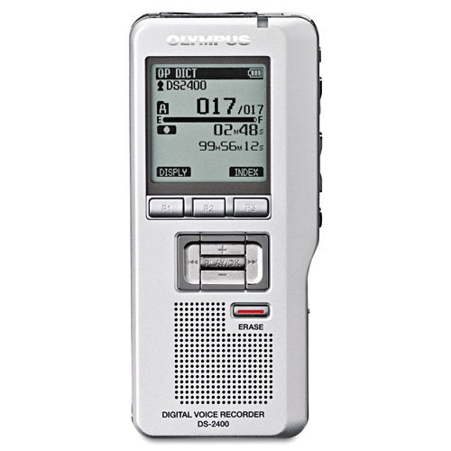 New Olympus Ds-2400 Digital Voice Recorder Voice Activated Editing Capabilities Direct Pc Connect by Olympus
