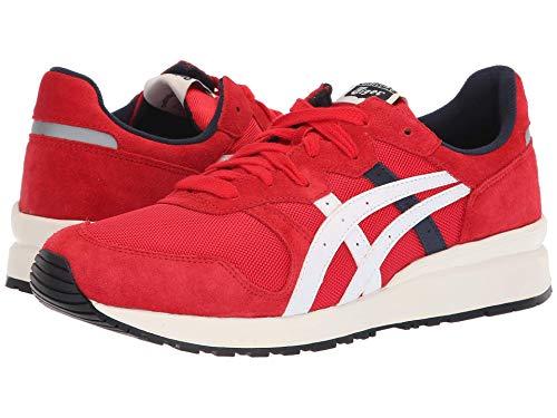 [Onitsuka Tiger(オニツカタイガー)] ユニセックスランニングシューズ?スニーカー?靴 Tiger Ally Classic Red/Cream Men's 6, Women's 7.5 (24m(レディース24.5cm)) Medium