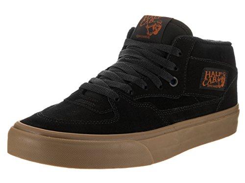Vans Half Cab Gum Black/Black Men's Classic Skate Shoes Size 7.5