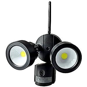 Amazon.com: iSmart Wireless Wifi LED Light Onvif P2P IP ...