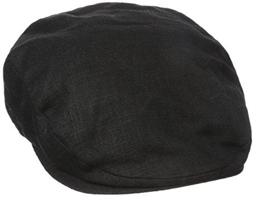 Stetson Men's Linen Ivy Cap, Black, Medium