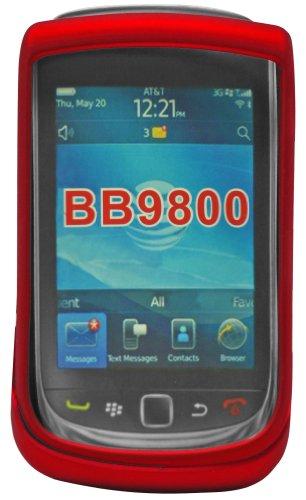 Cellet Red Rubberized Proguard Cases For BlackBerry Torch (Cellet Blackberry Case)