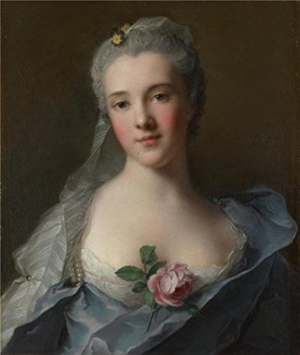 Oil Painting 'Jean-Marc Nattier-Manon Balletti,1757' Printin