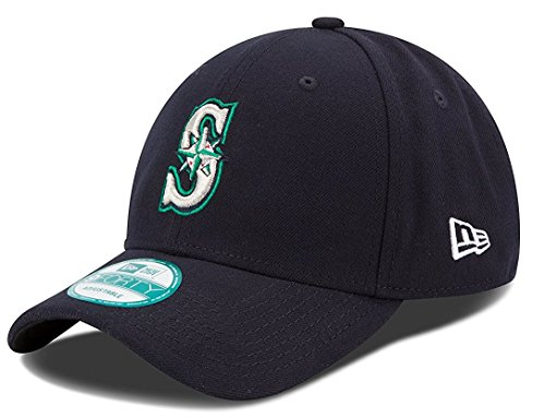 MLB Youth The League Seattle Mariners 9Forty Adjustable Cap (Seattle Mariners Baseball Cap)