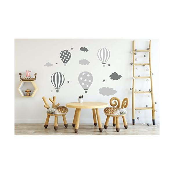 VORCOOL Sleepy Eyes Eyelash madera etiqueta de la pared Kids Children Room Decor dormitorio fondo 1 par blanco