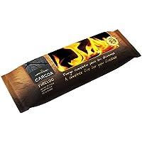 Carcoa Chimenea Firelog Tronco para chimeneas autoencendible, Marrón
