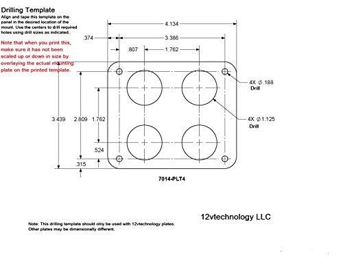 Quad Heavy High Amperage Duty 20A 12v Plug High Power Socket Plug ...