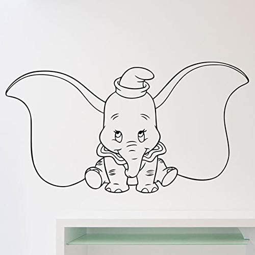 wZUN Dumbo Elefante Pared calcomanía Dibujos Animados Oreja ...