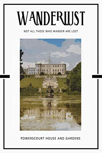 Powerscourt House and Gardens: Trip Visit Souvenirs Bullet Journal Dot Grid BuJo Daily Planner (Best Trip Journal App)