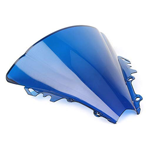 Nathan-Ng - Motorcycle ABS Double Bubble Windshield Windscreen for Yamaha YZF R6 600 2006 2007 06 07