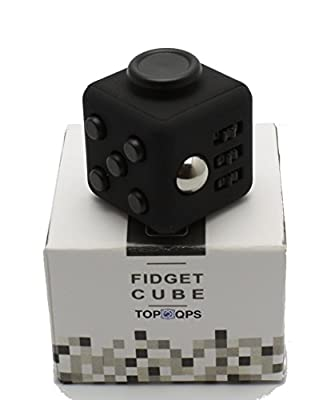 TopQPS Fidget Cube - Relieves Anxiety for Children and Adults - Stress Reliever