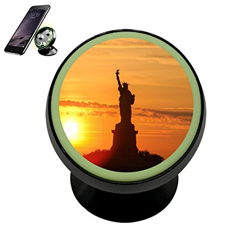 Statue of Liberty Universal GPS Stand Holder Magnetic 360 Cellphone Car Mount Holder For - Ban Liberty