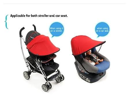 [Manito] New Sunshade / Parasoles para el sillas de paseo, cochecito de bebé, y el asiento de coche, Sunblock ancho, corte ULTRAVIOLETA, ...