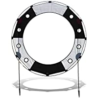 Premier RC Keyhole Race Gate for Drone Racing - Black and White
