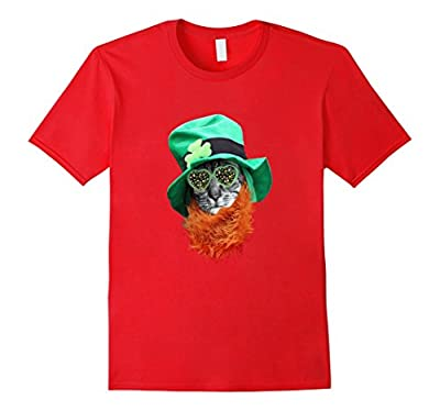 Happy St. Patrick's Day Cat Funny T-Shirt - irish af shirt
