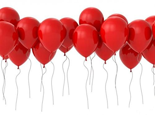 12 Inch Red Latex Balloons for Birthday Party Decorations Wedding (100PCS)