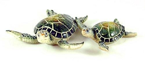 Sea Turtle Figurine Set of 2